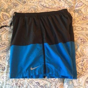 Nike Dri-fit running shorts- 5 in inseam